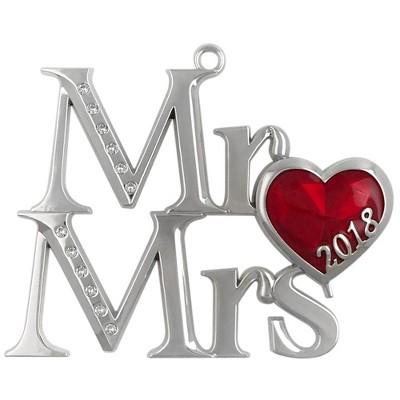 2018 Mr. & Mrs. Christmas Tree Ornament - Harvey Lewis