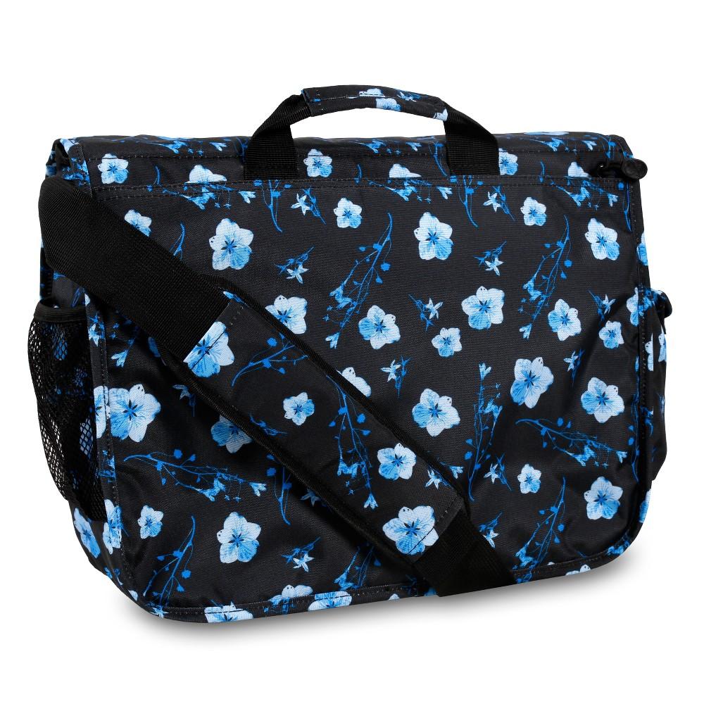 J World Thomas Laptop Messenger Bag - Night Bloom, Black