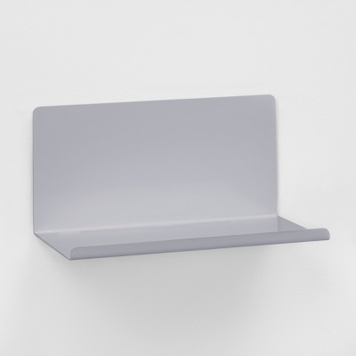 Wall Shelf Bent Metal 12 - Gray - Project 62™