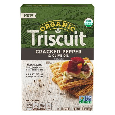 Crackers: Triscuit Organic