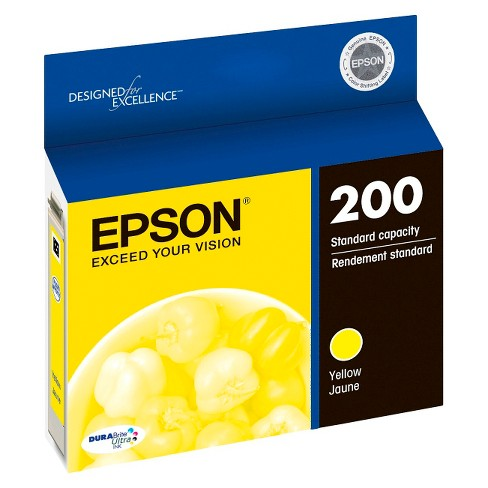 Epson 200 Single, 2pk, 3pk, & 4pk Ink Cartridges - Black, Yellow, Magenta, Cyan, Multicolor - image 1 of 3