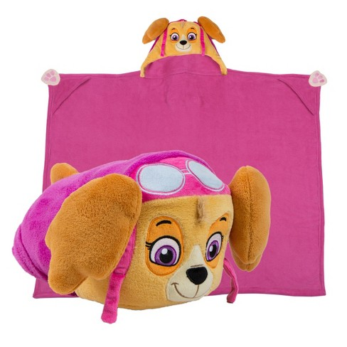 As Seen On Tv Comfy Critters Throw Blanket Paw Patrol Skye Target