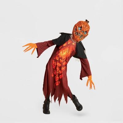Kids' Light Up Pumpkin Wraith Halloween Costume with Accessories - Hyde & EEK! Boutique™