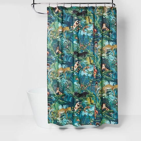 Jungle Print Shower Curtain Opalhouse