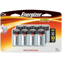 Energizer Max C Batteries 8 ct (E93BP-8H)