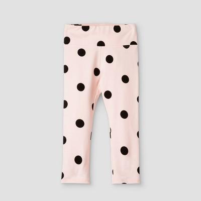 Grayson Mini Toddler Girls' Dot Leggings - Pink