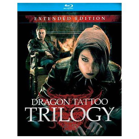 Stieg Larsson's Dragon Tattoo Trilogy (Blu-ray) - image 1 of 1