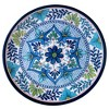 "Certified International Talavera by Nancy Green Melamine Dinner Plates 11"" Blue - Set of 6 - image 2 of 3"