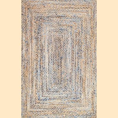 nuLOOM Hand Braided Eliz Jute Area Rug