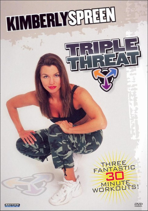 Kimberly spreen:Triple threat cardio (DVD) - image 1 of 1