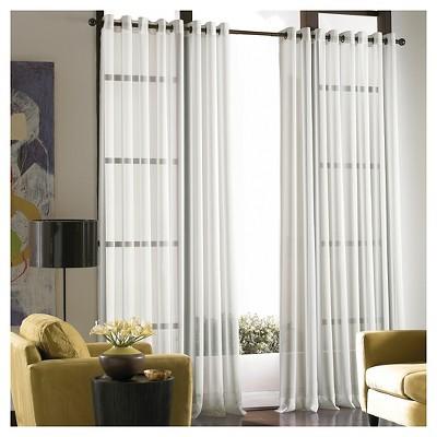 Curtainworks Soho Curtain Panel - Winter White (84 )