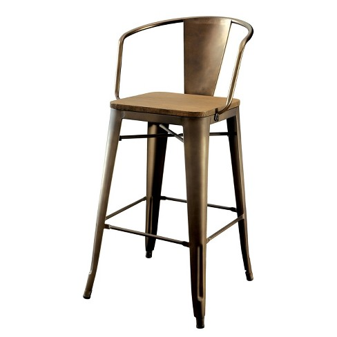 Gregg Industrial Counter Height Chair - HOMES: Inside + Out - image 1 of 3