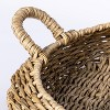 Large Round Manmade Outdoor Wicker Tray - Threshold™ designed with Studio McGee - image 3 of 3