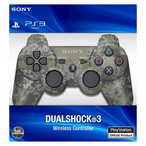 PS3 Dualshock 3 Wireless Controller - Urban Camouflage - image 1 of 1