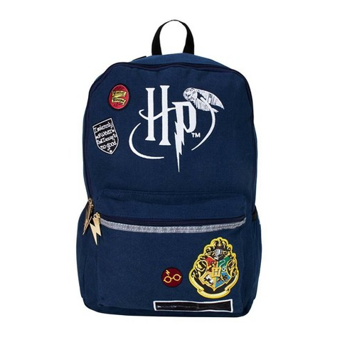 "Harry Potter 18"" Up To No Good  Backpack - Navy - image 1 of 5"