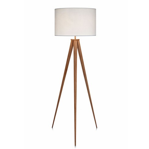 Versanora - Romanza Tripod Floor Lamp with White Shade (Lamp Only) - image 1 of 4
