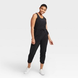 Women's Stretch Woven Jumpsuit - All in Motion™