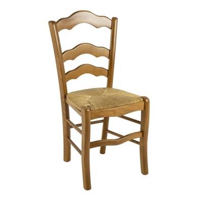 Set of 2 Filomena Side Chairs Walnut - Linon