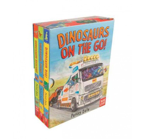 Dinosaurs on the Go! : Dinosaur Rescue! / Dinosaur Zoom! / Dinosaur Dig! (Hardcover) (Penny Dale) - image 1 of 1