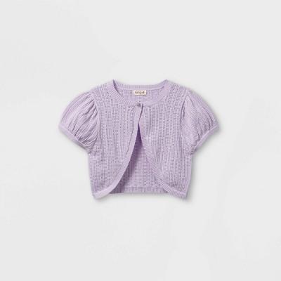 Girls' Shrug Short Sleeve Sweater - Cat & Jack™