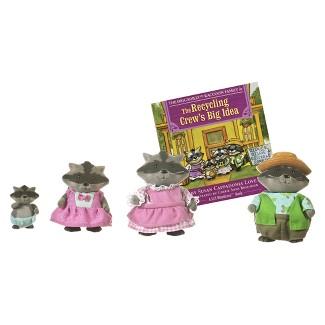Lil Woodzez® Diggadillys Raccoon Family