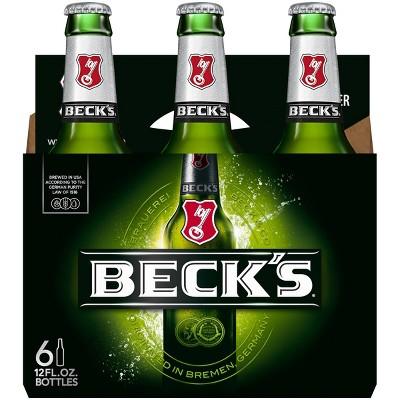 Beck's Beer - 6pk/12 fl oz Bottles