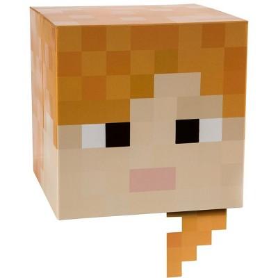 "JINX Inc. Minecraft 12"" Alex Head Costume Mask"