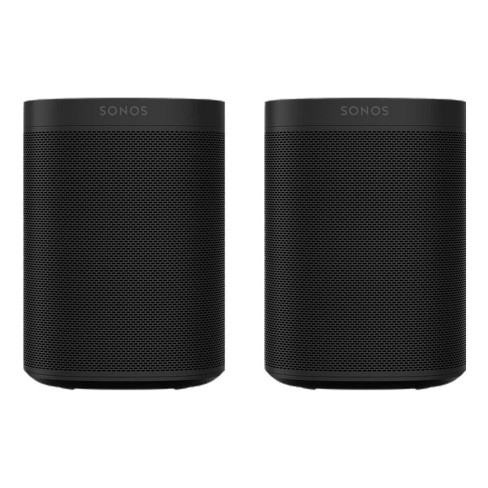 Sonos Two Room Set with Sonos One Gen 2 - Smart Speaker with Alexa Voice Control Built-In. Compact Size with Incredible Sound for Any Room - image 1 of 10