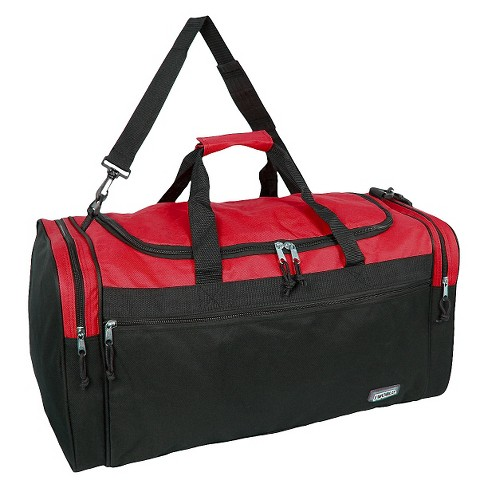 "J World Copper 18"" Duffel Bag - Red/Black - image 1 of 3"