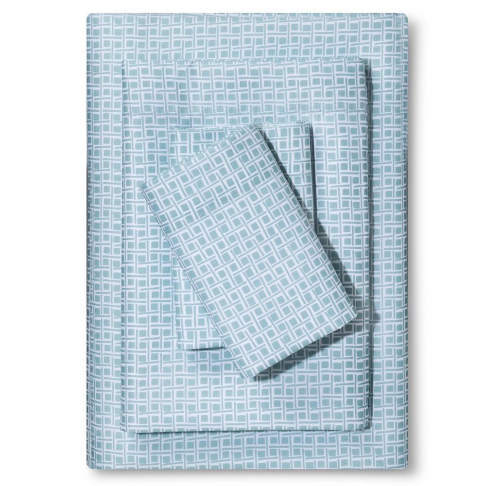 Microfiber Sheet Set (Twin/Twin XL) Caribbean Aqua - Room Essentials