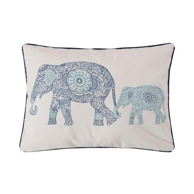 Tania Elephants Decorative Pillow - Levtex Home