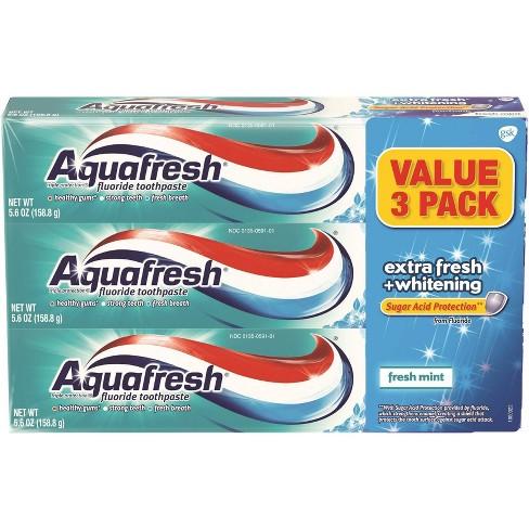 Aquafresh Aquafresh EF + Whitening 3 pack - 16.8oz - image 1 of 4
