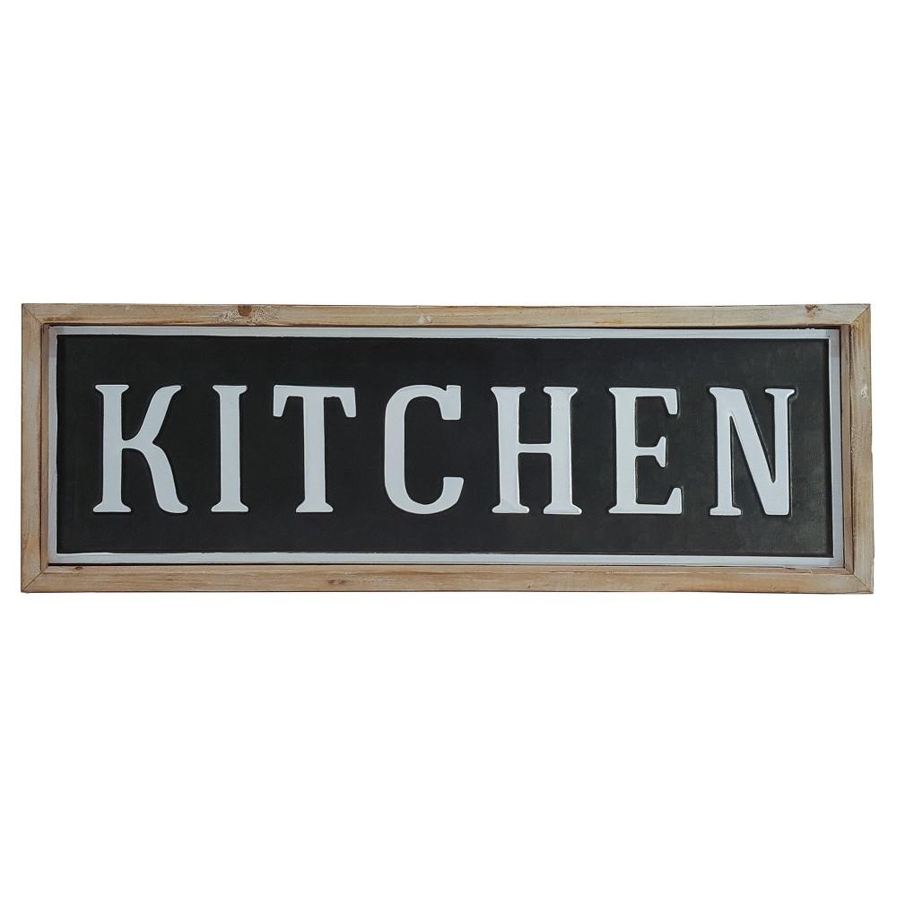 Kitchen Wall Décor Black (24