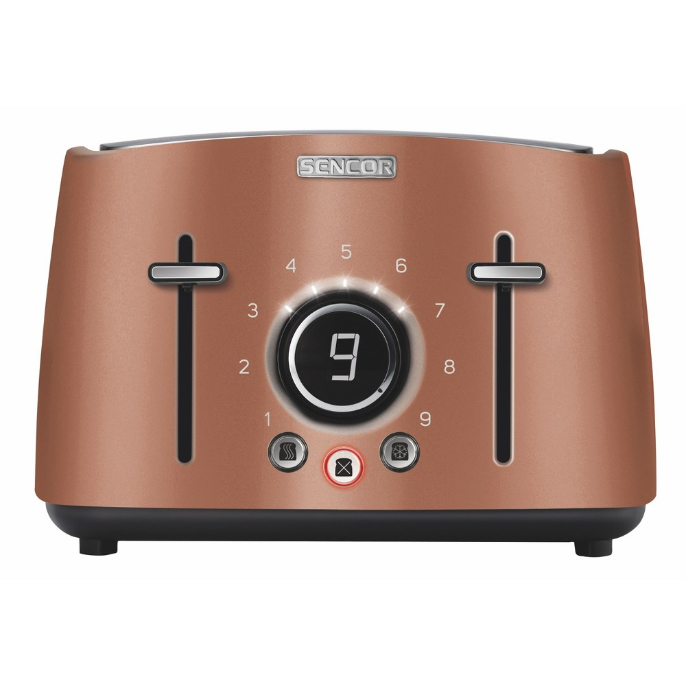 Sencor Metallic 4 Slice Toaster – Gold 54281265