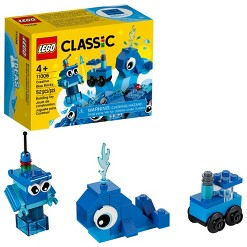 LEGO Classic Creative Blue Bricks 11006 Kids' Building Toy Starter Set