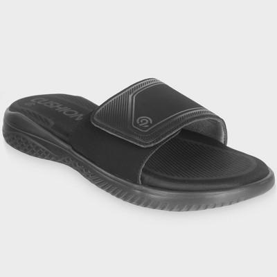 19a2c580475a Men s Kurtis Slide Sandal - Goodfellow   Co™ Tan   Target