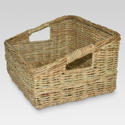 Decorative Boxes and Baskets Khaki - Threshold™ - image 1 of 1