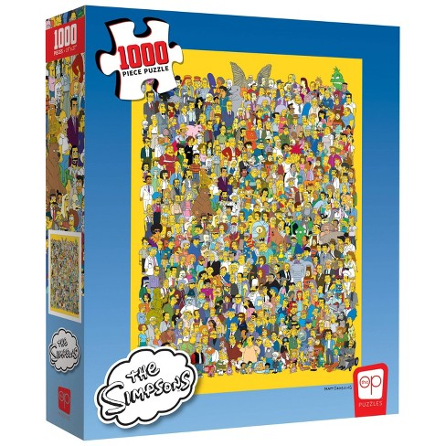 USAopoly Simpsons: Cast of Thousands Jigsaw Puzzle - 1000pc - image 1 of 4