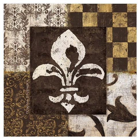 Thirstystone Fleur de Lis 4 Piece Occasions Coaster Set - image 1 of 1