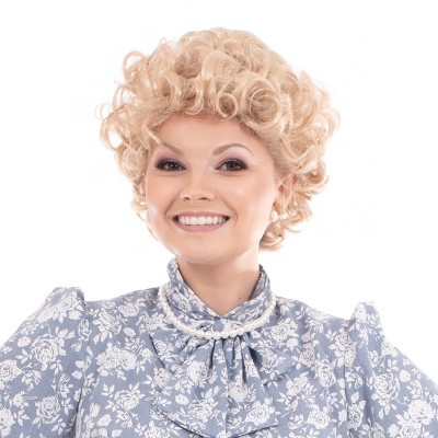 Toynk The Golden Girls Officially Licensed Rose Costume Cosplay Wig