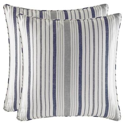 Gray Conrad Euro Pillow Sham Set - Stone Cottage®