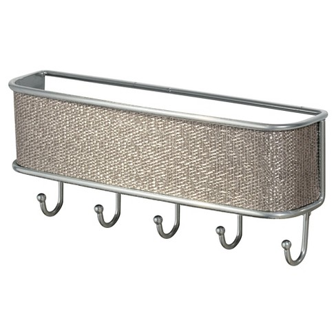"InterDesign Twillo Wall Mount Mail & Key Rack - Metallic (10.5"") - image 1 of 2"