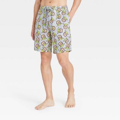 Men's Star Wars: The Mandalorian Pajama Shorts - Gray