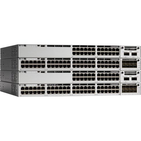 Cisco Catalyst 9300 24-port data only, Network Essentials - 24 Ports - Manageable - 2 Layer Supported - Twisted Pair - Lifetime Limited Warranty - image 1 of 1