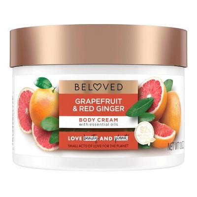 Beloved Grapefruit Oil & Red Ginger Body Cream Lotion - 10oz