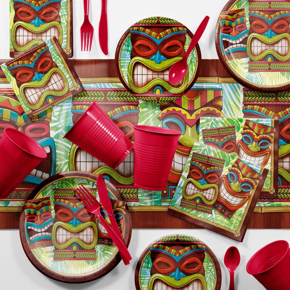 Image of Bulk Tiki Time Luau Party Kit