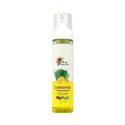 Alikay Naturals Lemongrass Styling Mousse - 8 fl oz