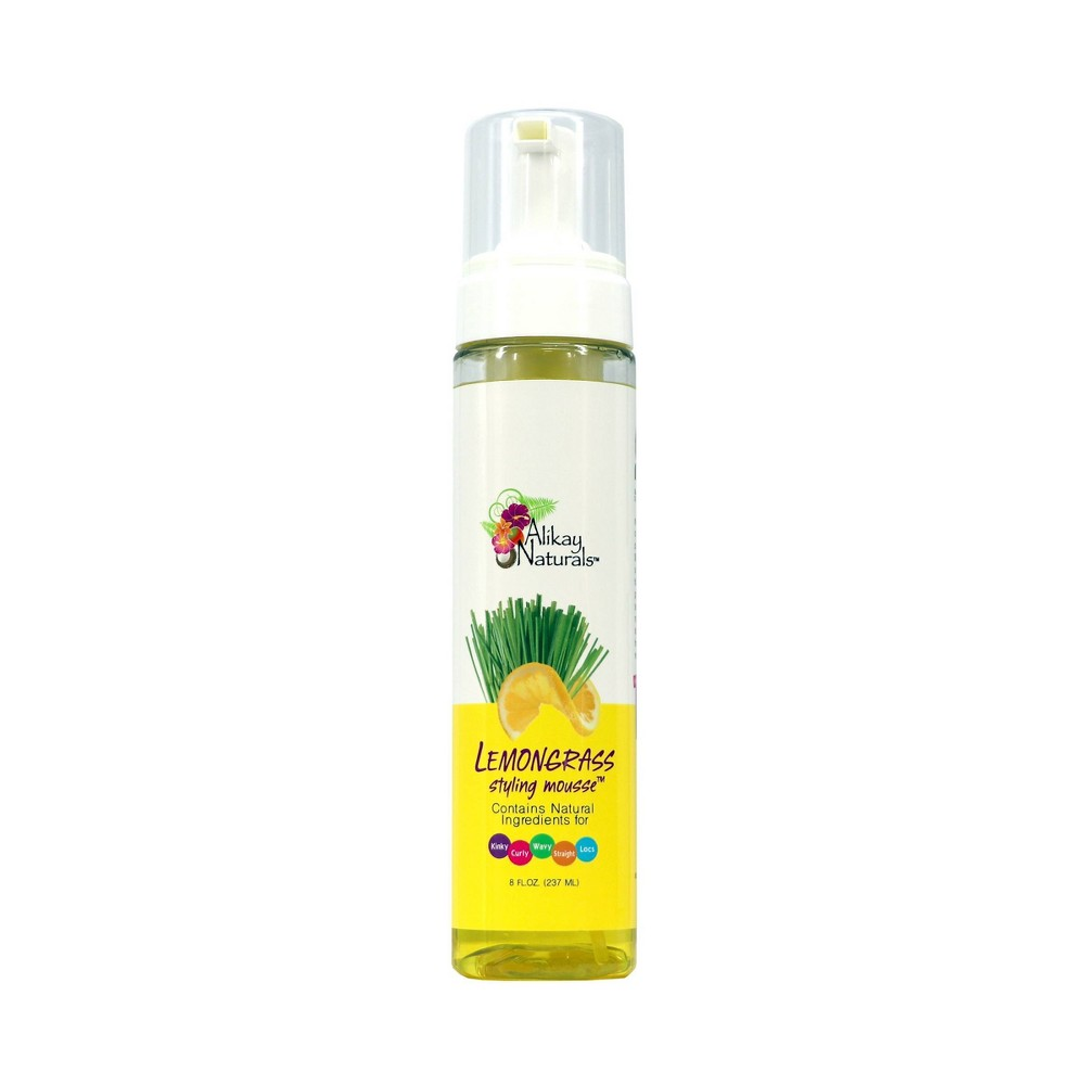 Image of Alikay Naturals Lemongrass Styling Mousse - 8 fl oz