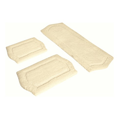 Paradise Memory Foam Bath Rug Set 2pc Ivory - Chesapeake - image 1 of 1