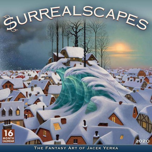 Ccc Calendar 2020 2020 Surrealscapes The Fantasy Art Of Jacek Yerka 16 Month Wall